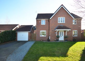 Thumbnail 4 bedroom detached house for sale in Delamere Close, Weston, Crewe