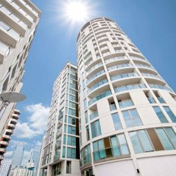 Thumbnail 1 bed flat to rent in Lanterns Way, Canary Wharf