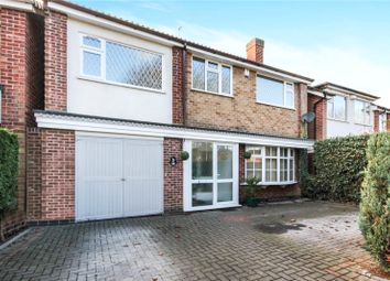 Thumbnail 4 bed detached house for sale in Gifford Close, Leicester