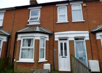 Thumbnail 3 bed terraced house to rent in Stradbroke Road, Ipswich