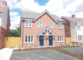 Thumbnail 2 bed semi-detached house for sale in Sweelake Meadows, Longden Road, Shrewsbury