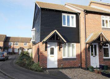Thumbnail 1 bedroom end terrace house for sale in Fludger Close, Wallingford