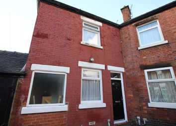 Thumbnail 3 bed terraced house for sale in Angle Street, Leek, Staffordshire