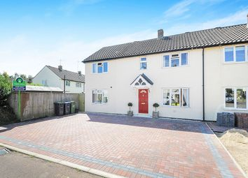 Thumbnail 4 bed terraced house for sale in Britannia Crescent, Lyneham, Chippenham