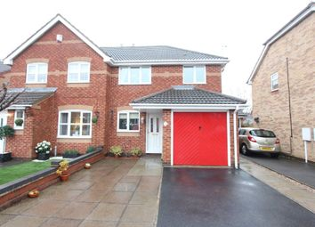 Thumbnail 3 bed semi-detached house to rent in Hogarth Drive, Hinckley