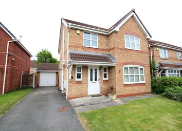 Thumbnail 3 bed detached house for sale in Little Close, Farington Moss, Leyland