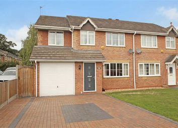 Thumbnail 4 bed semi-detached house for sale in Malthouse Close, Whittington, Oswestry