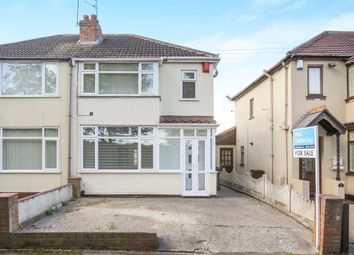 Thumbnail 3 bed semi-detached house for sale in Hadley Place, Bilston