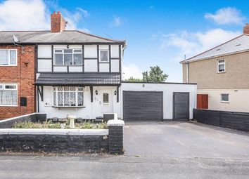 Thumbnail 3 bed terraced house for sale in Mills Crescent, Wolverhampton