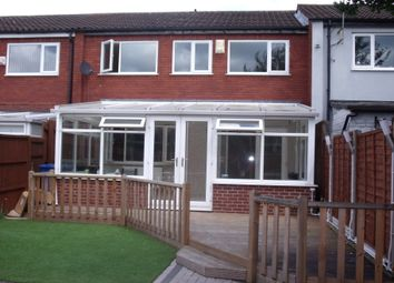 Thumbnail 3 bedroom terraced house to rent in Garrigill, Wilnecote, Tamworth, Staffordshire