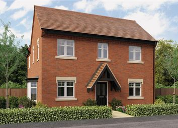"Thumbnail 4 bed detached house for sale in ""Repton"" at Burton Road, Streethay, Lichfield"