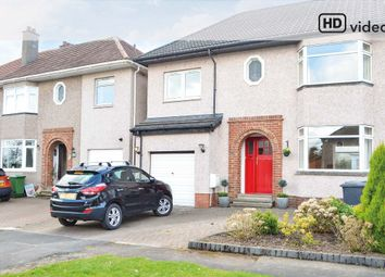Thumbnail 4 bed semi-detached house for sale in Kirklands Crescent, Bothwell, Glasgow
