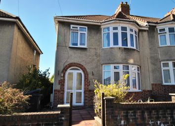 Thumbnail 3 bed semi-detached house to rent in Stoneleigh Road, Knowle, Bristol