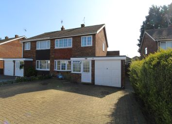 Thumbnail 3 bed semi-detached house for sale in Bushy Close, Bletchley