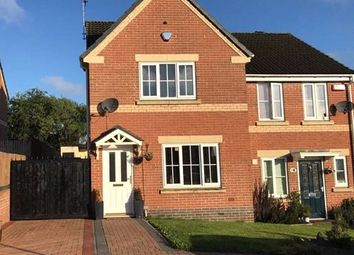 Thumbnail 3 bed semi-detached house for sale in Avocet Close, Heanor, Derbyshire