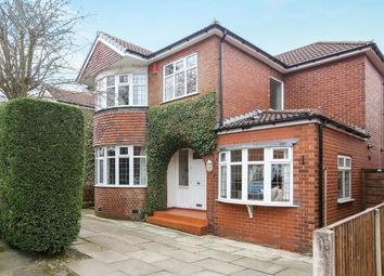 Thumbnail 4 bed detached house for sale in Brentwood Drive, Gatley, Cheshire, .