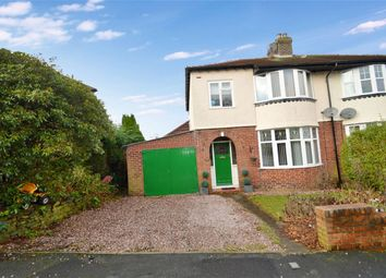 Thumbnail 3 bed semi-detached house for sale in Park Crescent, Furness Vale, High Peak, Derbyshire