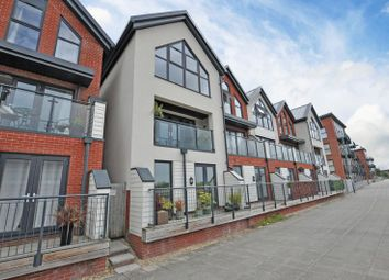3 bed terraced house for sale in Riverside Town House, Rhosyn Close, Newport NP19