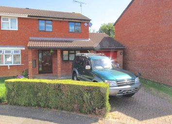 Thumbnail 3 bed semi-detached house to rent in Partridge Grove, Werrington, Peterborough