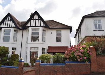Thumbnail 3 bed semi-detached house for sale in Queens Road, Sketty, Swansea