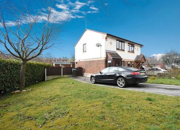 Thumbnail 2 bed semi-detached house for sale in Hembury Close, Middleton, Manchester