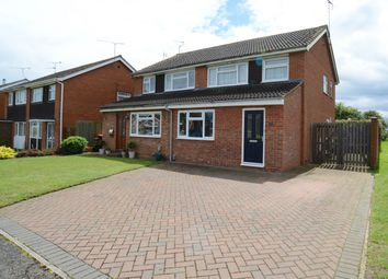 Thumbnail 3 bed semi-detached house for sale in Kiteleys Green, Leighton Buzzard, Central Bedfordshire