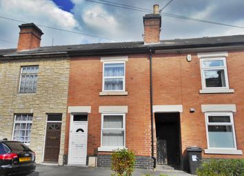 Thumbnail 2 bedroom terraced house for sale in Bakewell Street, Stockbrook, Derby