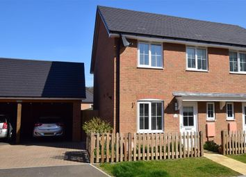 Thumbnail 3 bedroom semi-detached house for sale in Colmanton Grove, Sholden, Deal, Kent