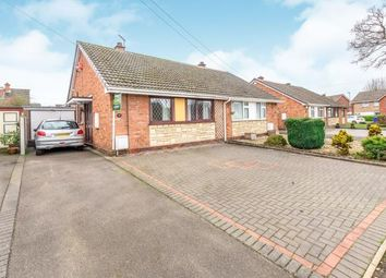 Thumbnail 2 bed bungalow for sale in Stapleford Gardens, Burntwood, Staffordshire