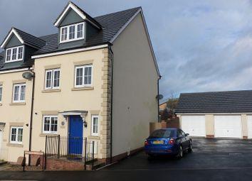 Thumbnail 3 bed semi-detached house for sale in Meysydd Y Coleg, Carmarthen, Carmarthenshire.
