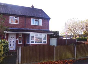 Thumbnail 3 bed end terrace house for sale in Park Road, Partington, Greater Manchester