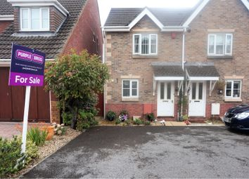 Thumbnail 2 bed semi-detached house for sale in Swn Yr Aderyn, Bridgend