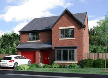 "Thumbnail 4 bedroom detached house for sale in ""The Chadwick Alternative"" at Coach Lane, Hazlerigg, Newcastle Upon Tyne"