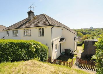 Thumbnail 1 bed flat for sale in Taunton Avenue, Plymouth