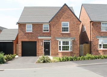 Thumbnail 4 bed detached house for sale in Harry Mortimer Way, Sandbach