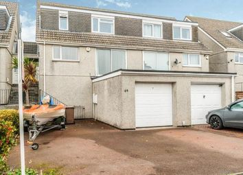 Thumbnail 4 bed semi-detached house for sale in Plympton, Plymouth, Devon