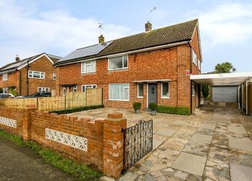 Thumbnail 3 bed semi-detached house for sale in Crescent Way, Horley, Surrey