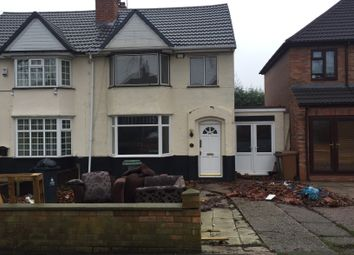 Thumbnail 3 bed semi-detached house to rent in Walstead Road, Walsall, West Midlands
