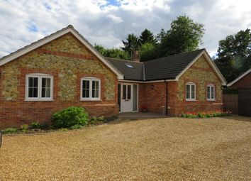 Thumbnail 4 bed detached bungalow for sale in Cley Lane, Saham Toney, Thetford