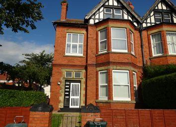 Thumbnail 1 bedroom flat to rent in Harcourt Road, Llandudno