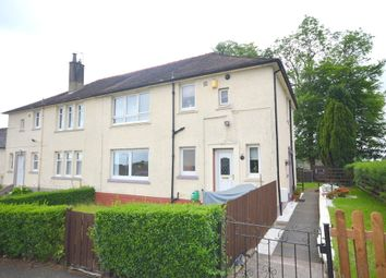 Thumbnail 2 bed flat for sale in Poplar Drive, Clydebank