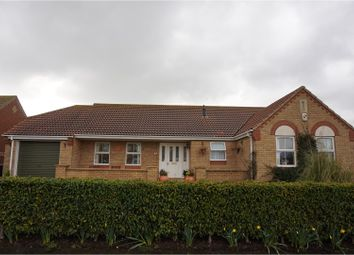 Thumbnail 3 bed detached bungalow for sale in Merrills Way, Skegness
