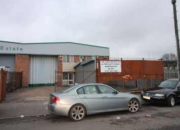 Thumbnail Industrial to let in Priory Road Industrial Estate, Birmingham