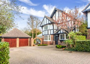Thumbnail 4 bed detached house for sale in Chiltern Close, Bushey, Hertfordshire
