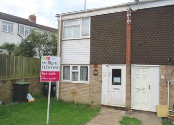 Thumbnail 2 bed terraced house for sale in Ponds Close, Raunds, Wellingborough