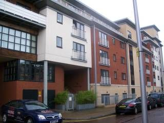 Thumbnail 2 bed flat for sale in Water Marque, Browning Street, City Centre
