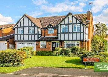 Thumbnail 5 bed detached house for sale in Ferndown Close, Bloxwich, Walsall