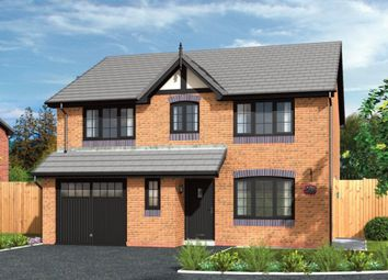 Thumbnail 4 bed detached house for sale in Forge Lane, Congleton