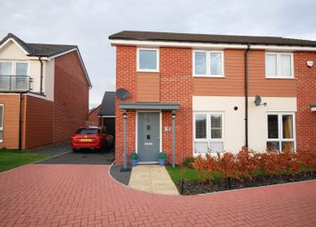 Thumbnail 3 bed semi-detached house for sale in Shotton View, Newcastle Upon Tyne