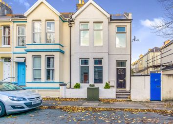 Thumbnail 3 bed end terrace house for sale in Rectory Road, Stoke, Plymouth